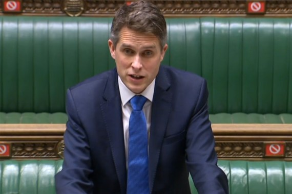 Gavin Williamson has blasted parents protesting over a cartoon of the prophet Mohammed at a school