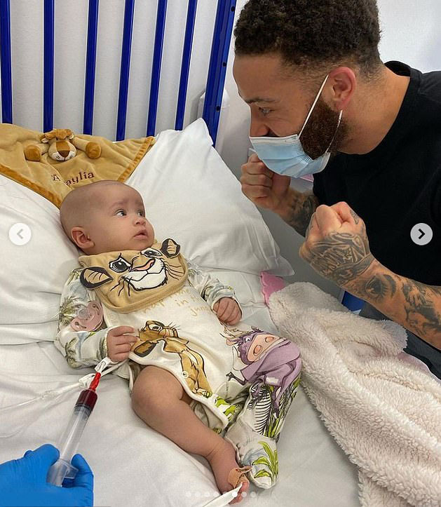 Ashley Cain started a Go Fund Me page to raise money for his daughter's treatment
