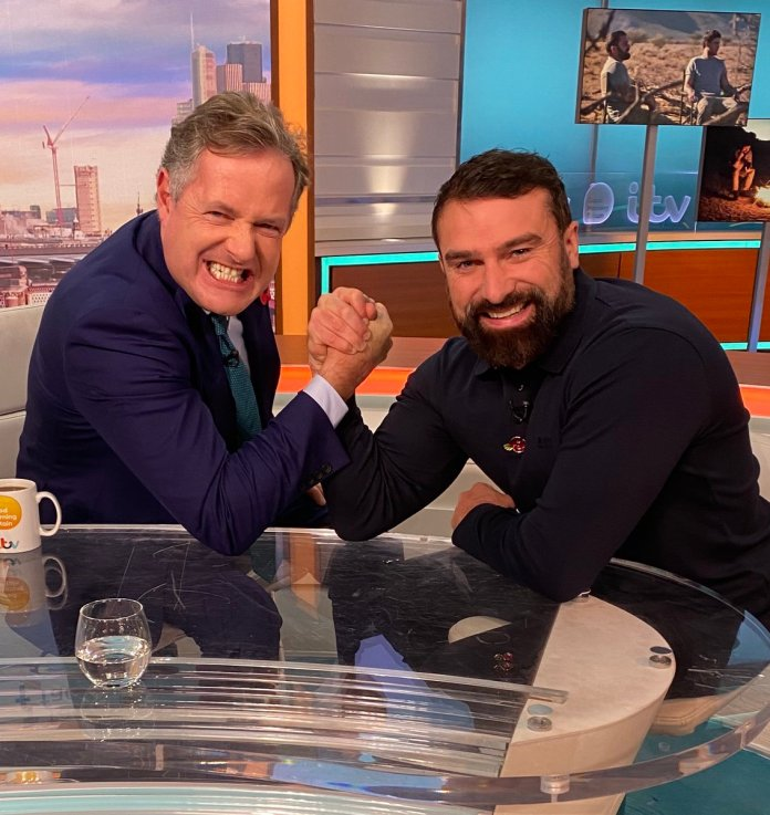 Ant Middleton claims he's a lot like Piers Morgan and won't work with anyone who doesn't like his style