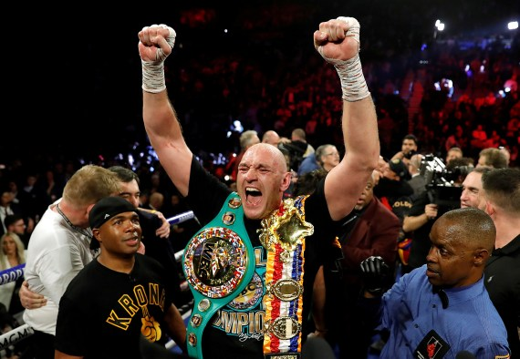 Teddy Atlas reckons Tyson Fury will get the better of Anthony Joshua