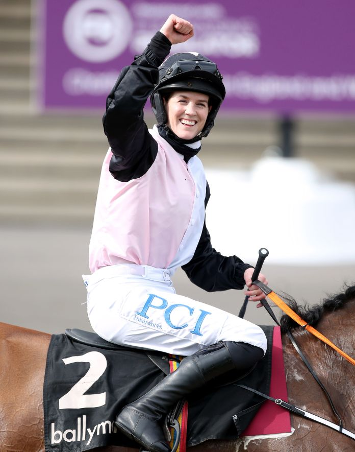 Which horse will Blackmore ride in the Grand National?