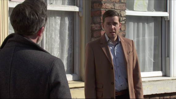 Billy approaches Todd after Eileen reveals he's leaving