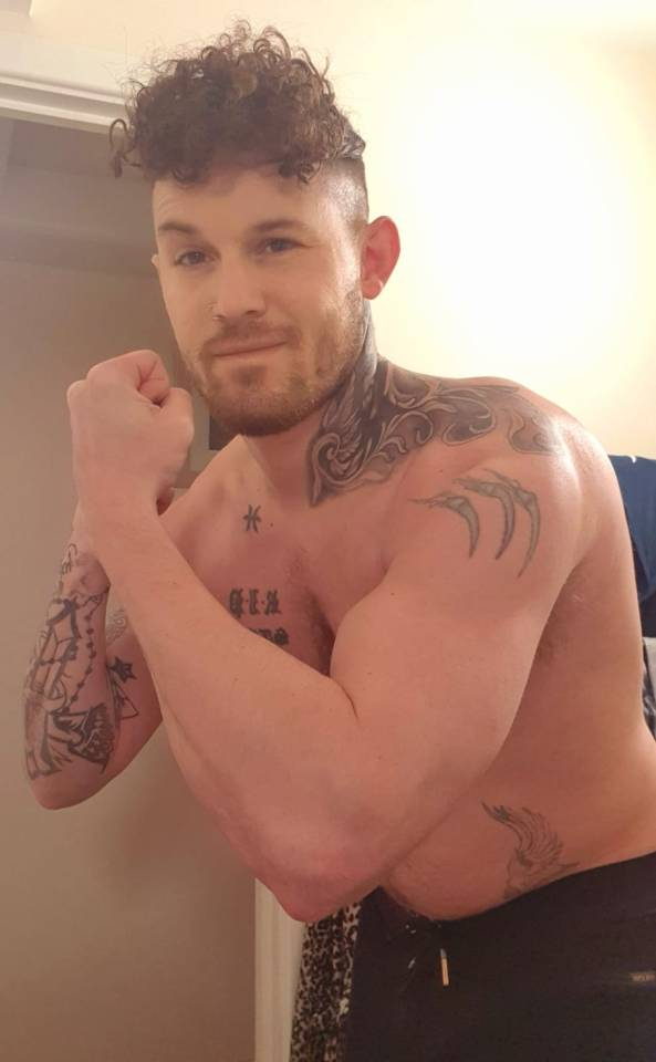 Christopher says he's had lots of positive feedback on his new physique