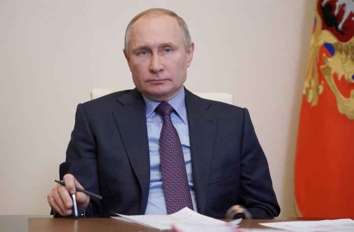 Vladimir Putin has today taken calls from European leaders over vaccine supplies