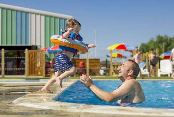 There's lots to entertain little ones at the holiday parks
