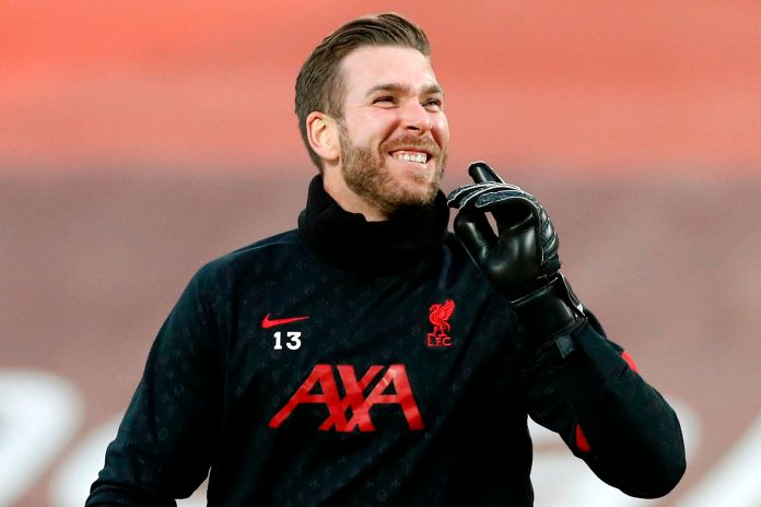 Adrian has fallen to third choice keeper at Anfield