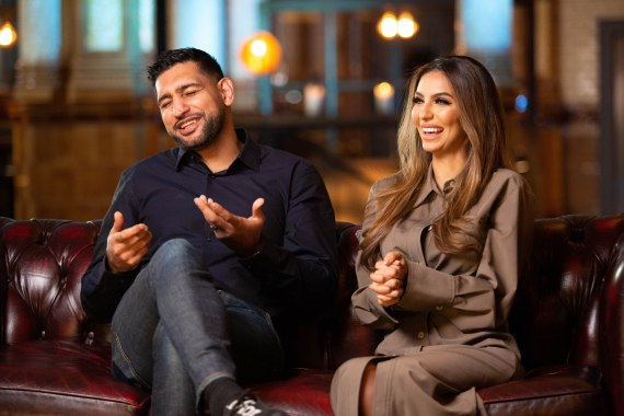 The couple appear in new BBC Three documentary Meet The Khans: Big In Bolton