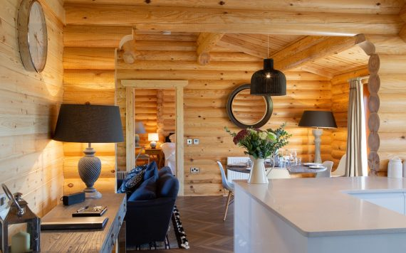 There's underfloor heating throughout the cabin