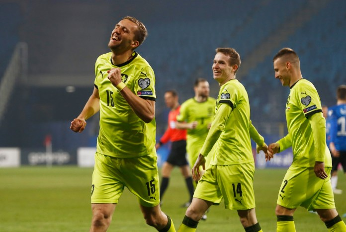 Tomas Soucek can be a Champions League star, according to Czech boss Jaroslav Silhavy