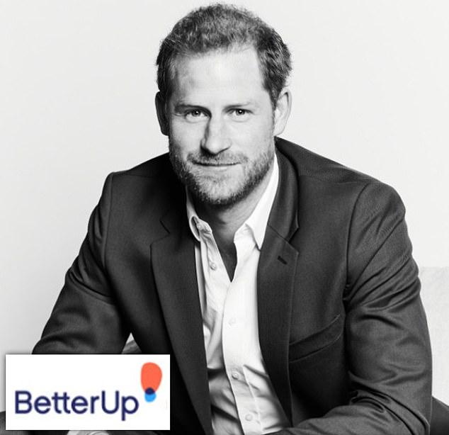 """Херцогът на Съсекс играе ролята на """"главен служител по въздействието"""" във фирмата за психично здраве BetterUp"""