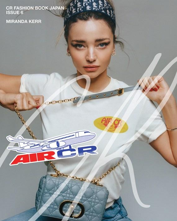 Miranda was posing for CR Fashion Book mag