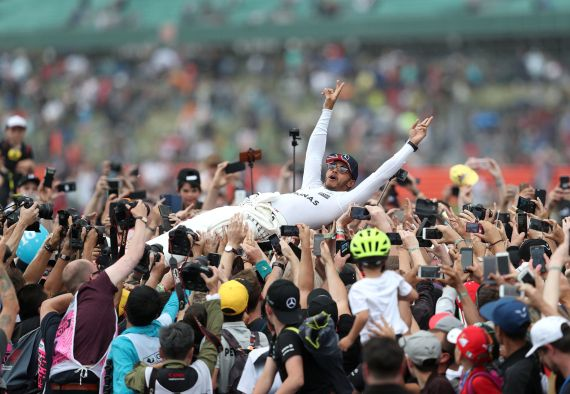 Fans may be witnessing Lewis Hamilton's last Silverstone race in July