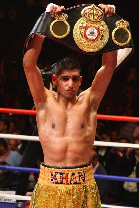 Amir also discusses a boxing comeback, saying 'I'm stepping up my training now and getting into fight mode'