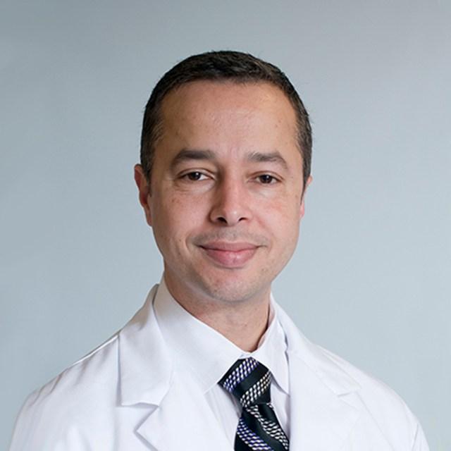 Dr Ahmed Tawakol of Harvard Medical School in Boston