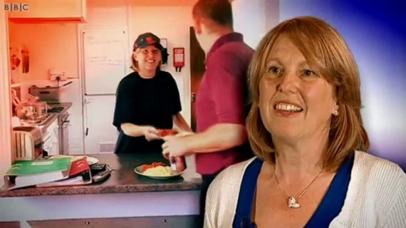 Julie Jeffrey spoke about how much she loved her job at the fire station in a BBC film