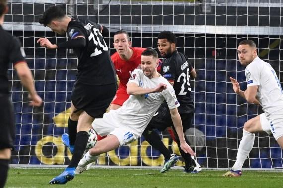 Kai Havertz scored for Germany in their win over Iceland on Thursday night