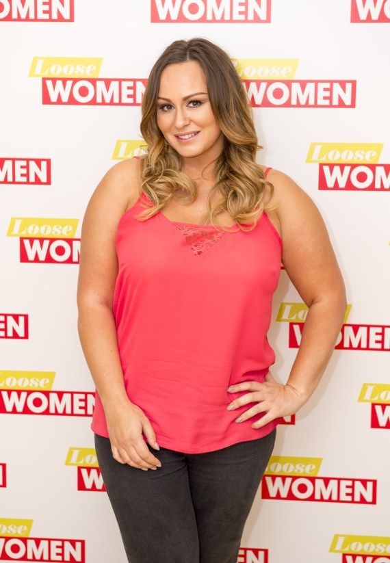 Chanelle pictured on Loose Women in 2016