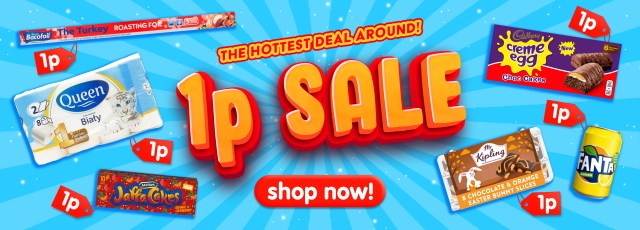 Click Marketpiece is having a massive 1p sale with all items, you guessed it, a penny