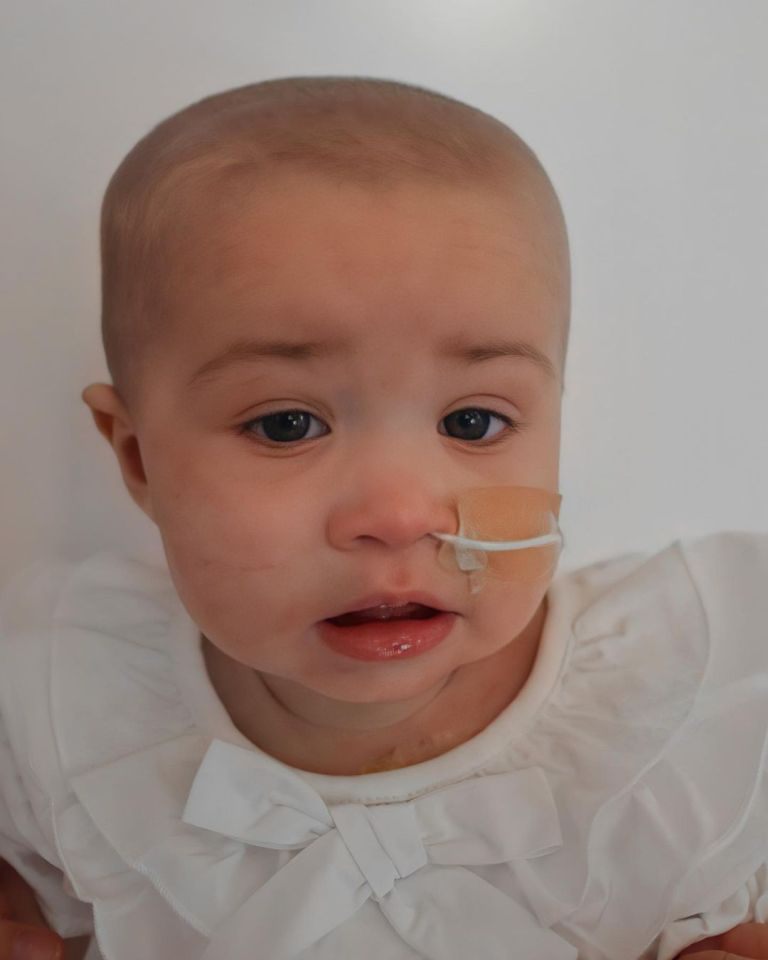 The baby girl needs life-saving treatment