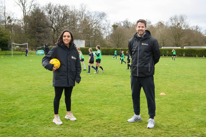 Yesterday, I spent the day running the first McDonald's Fun Football session with Jamie Redknapp