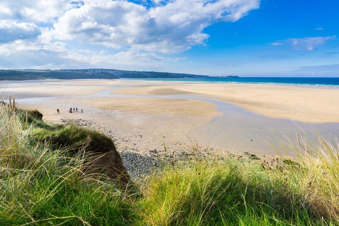 Also quiet is Hayle Towens beach, which is popular with kite buggies - but check before taking your dog due to seasonal bans