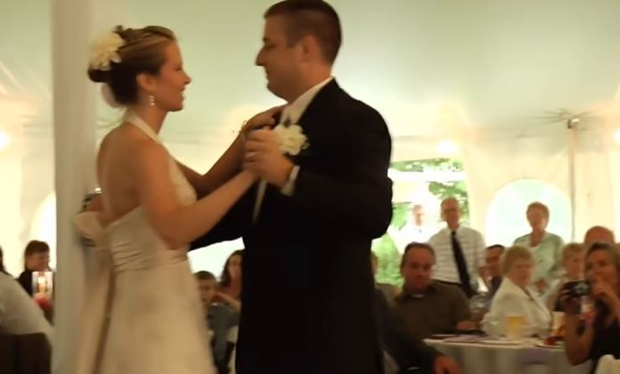 Jamie was thrilled with her budget wedding