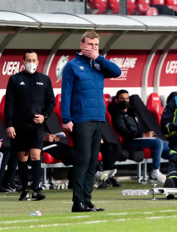 Stephen Kenny is now without a win in his first 11 games in charge of Ireland