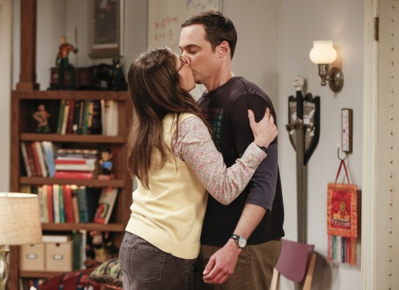 The pair were on-screen lovers on the CBS show