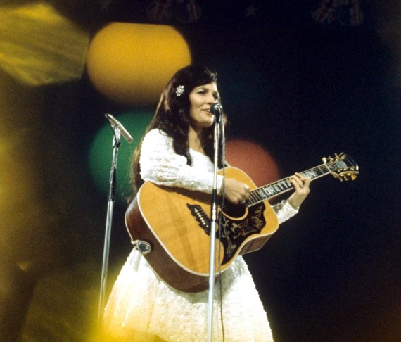 Johnny Cash said of Loretta: 'She was born a coal miner's daughter but she has become a country music legend'