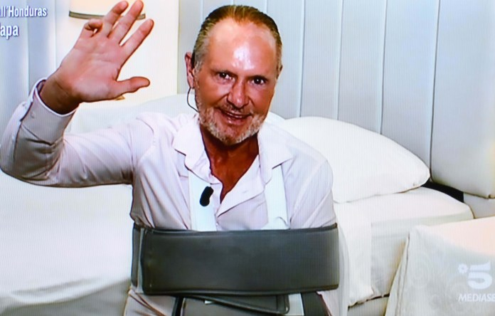 Paul Gascoigne has insisted he is fit enough to continue on Italy's version of I'm A Celeb