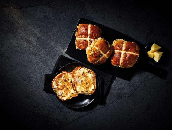 The Best Extra Fruity Hot Cross Buns are a real treat