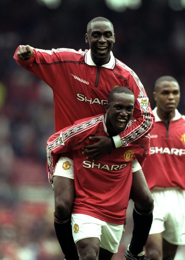 Andy Cole and Dwight Yorke formed a special strike partnership at Man United