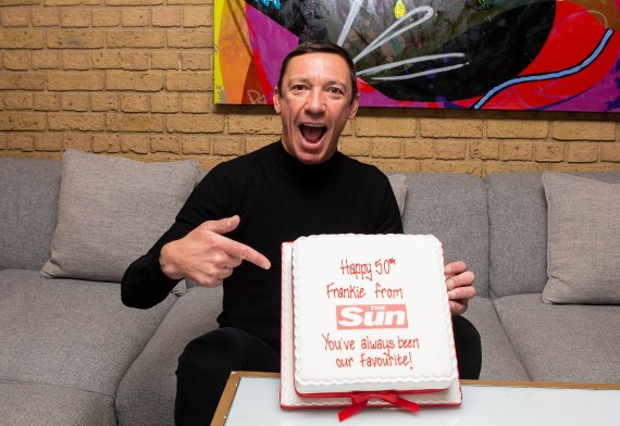 Dettori turned 50 at the end of last year but has shown no signs of slowing down