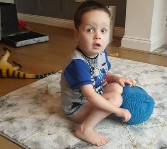 The little boy suffered from several medical problems during his short life