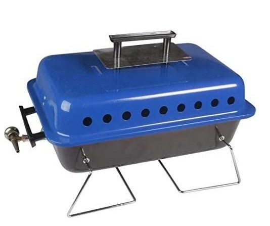 Get cooking with this portable barbecue