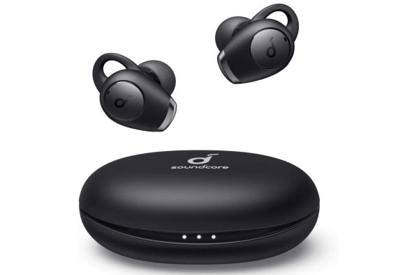 The Soundcore Life A2 buds come with a charging case for a total of 35 hours use