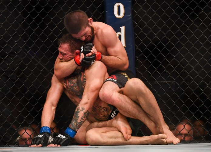 Khabib beat Conor McGregor in 2018