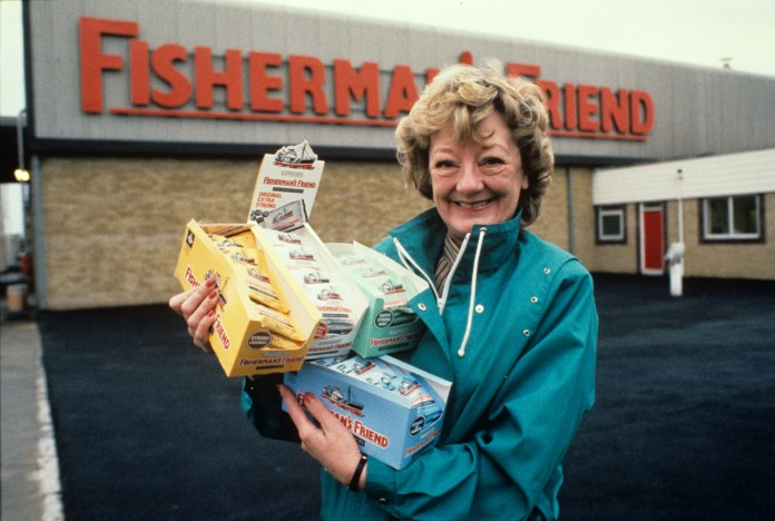 Doreen Lofthouse turned Fisherman's Friend into a global brand