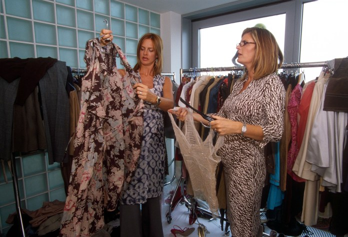 Susannah and Trinny would tear people's wardrobes apart