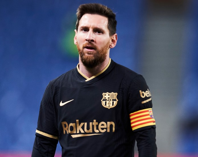 Most people would crave the chance of a photo with Lionel Messi but as an eight-year-old Dani Olmos thought differently