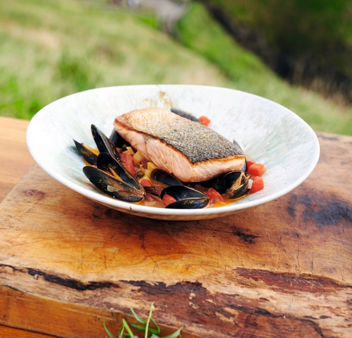 Buy the best salmon you can from the most sustainable producers, is the advice from James