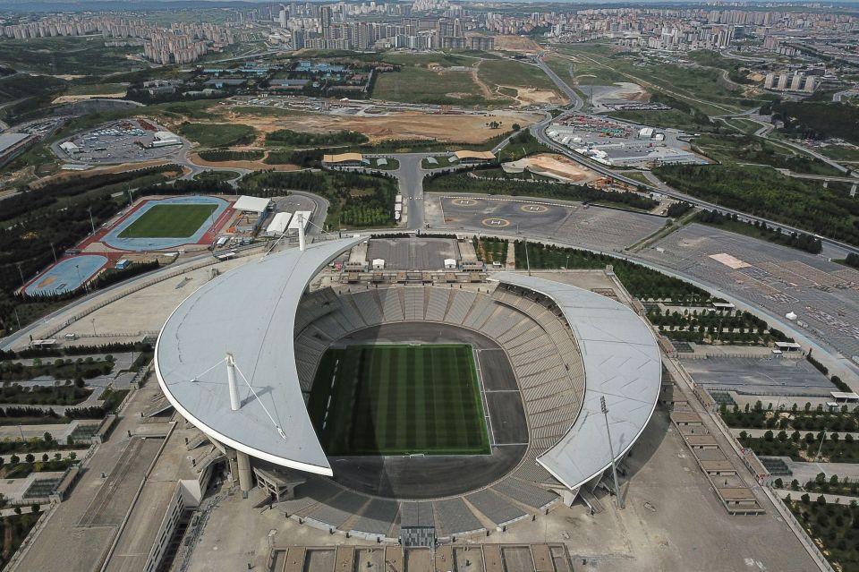 The Ataturk Stadium plays host this year