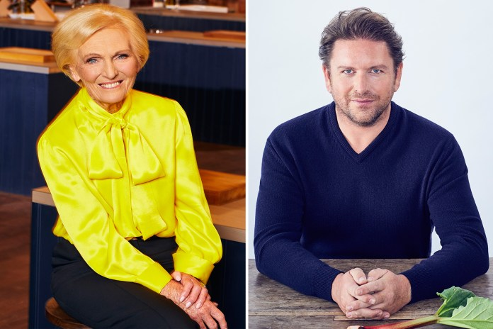 James Martin and Mary Berry have all the inspiration you need for this Easter