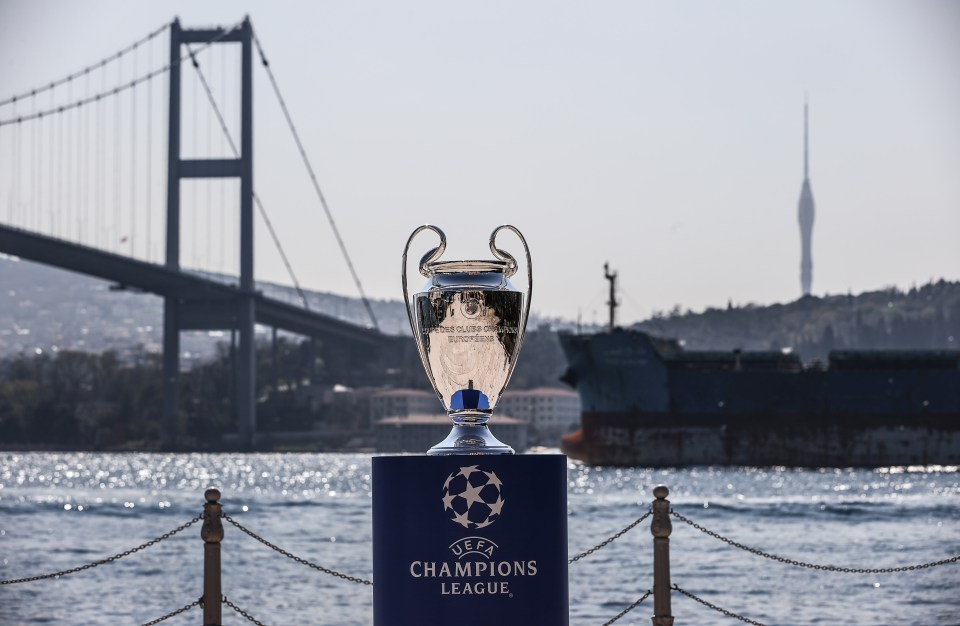 The Champions League final was originally set for Istanbul