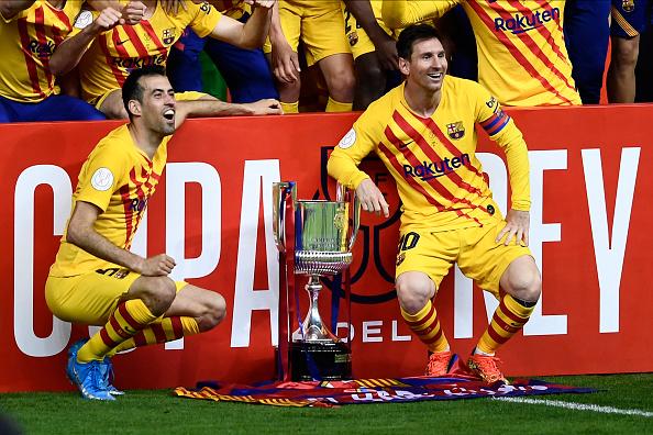 Athletic Bilbao 0-4 Barcelona LIVE RESULT: Messi, Griezmann, De Jong give Barca comfort in Copa del Rey final