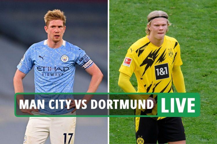Man City vs Dortmund FREE: Live stream, TV channel, teams ...