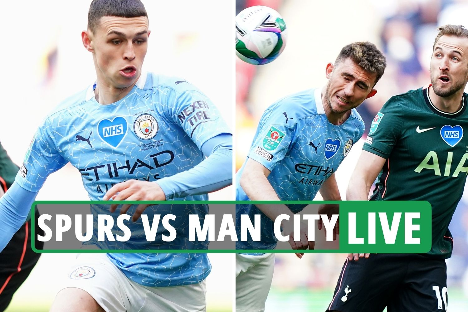Tottenham Vs Man City Carabao Cup Final Live Stream Tv Channel As Laporte Nets Crucial Late Header Latest 247 News Around The World