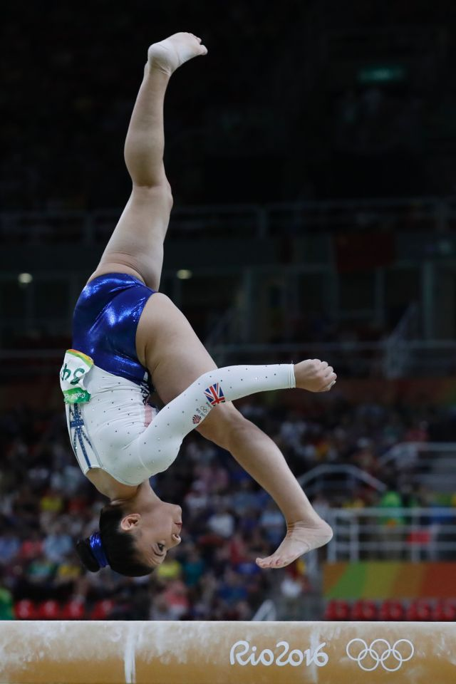Claudia is an Olympic gymnast