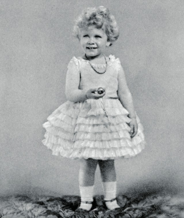 Princess Elizabeth became 'the world's best-known girl' with her curly blonde hair and blue eyes
