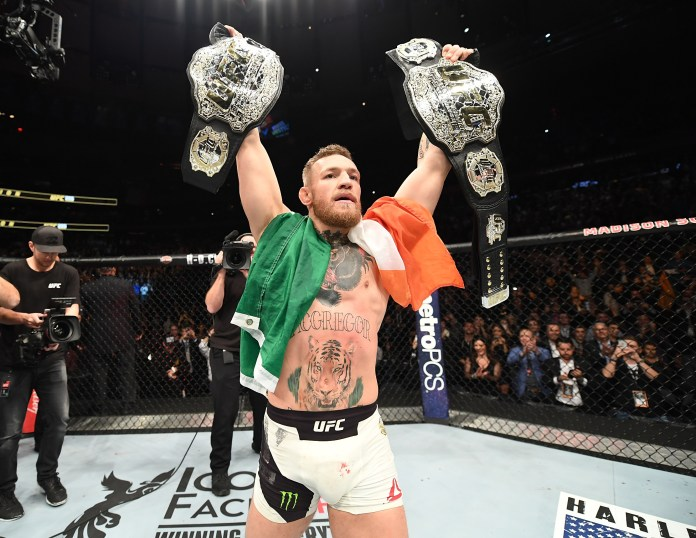 Conor McGregor has told UFC to make a 'McGregor Belt' for his trilogy with Dustin Poirier